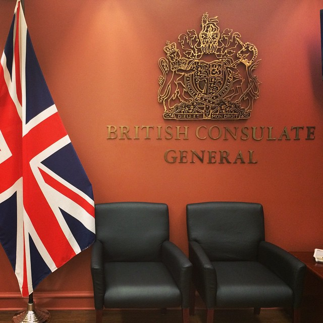 British Consulate Imperial Black