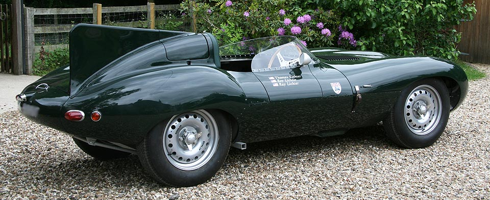 Race Car Replicas D Type