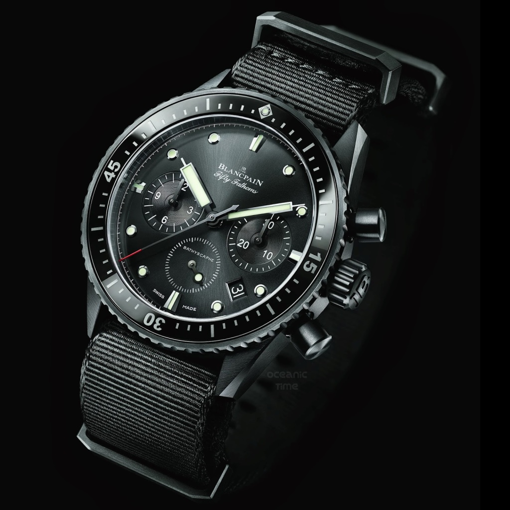 BLANCPAIN Fifty Fathoms BATHYSCAPHE Chronograph FLYBACK 04