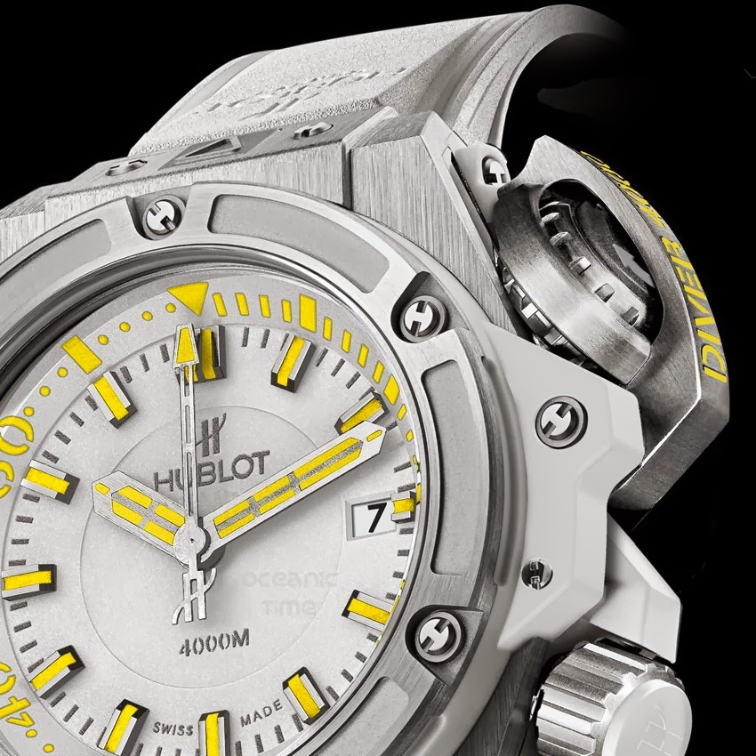 HUBLOT King Power 48MM OCEANOGRAPHIC 4000 Cheval Blanc RANDHELI Special Edition 02