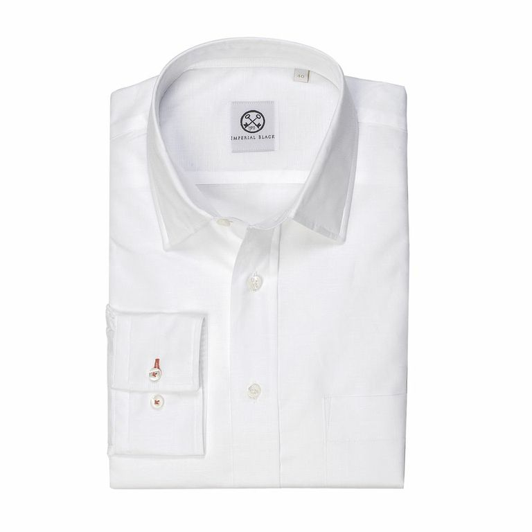 Imperial Black perfect white shirt mens luxury