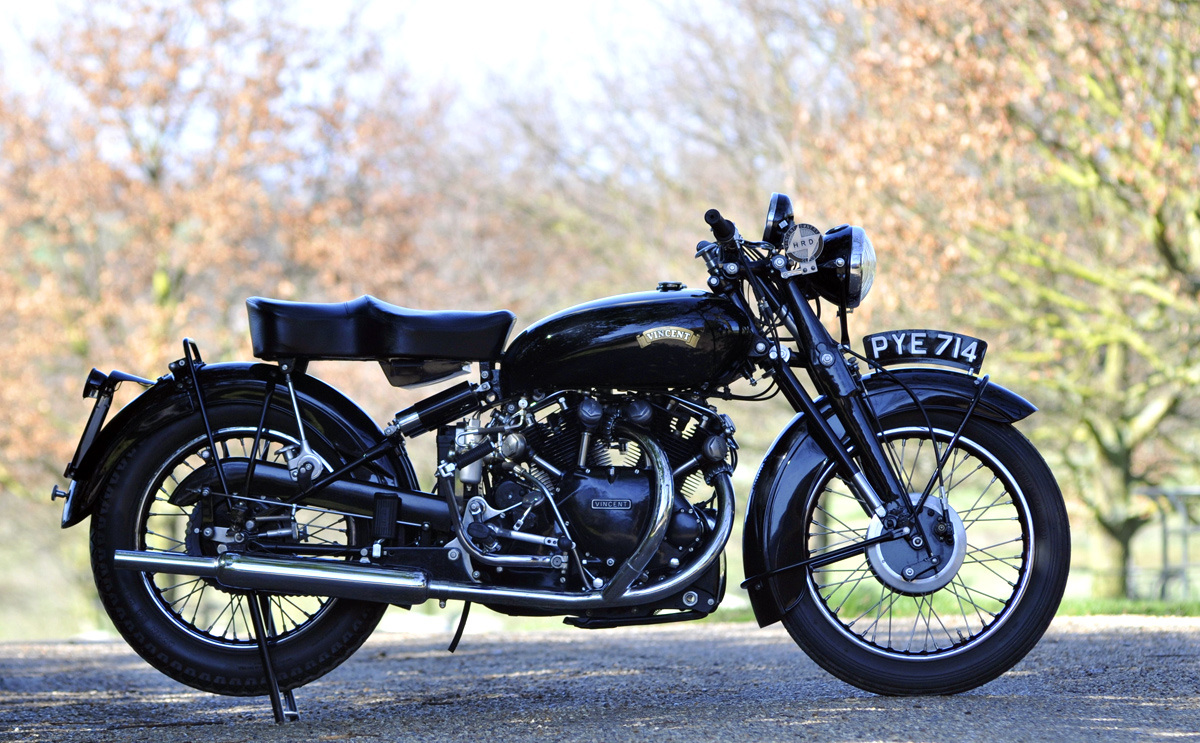 Vincent Black Shadow Motorcycle For Sale
