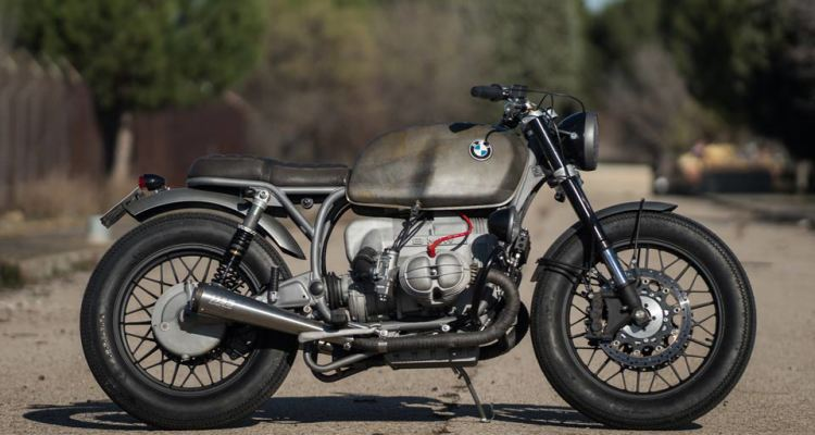 beautiful patina cafe racer dreams bmw r100rs journey