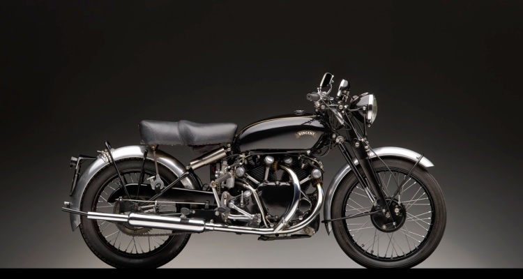 Michael Furman 1950 Vincent Black Shadow 2014
