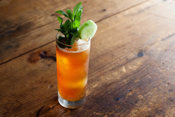 The perfect Pimm's cup
