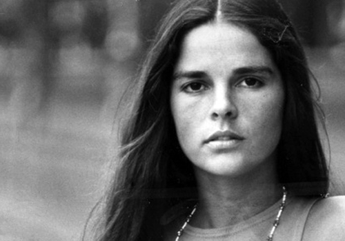 Ali-MacGraw- classic women for Imperial Black luxury shirts