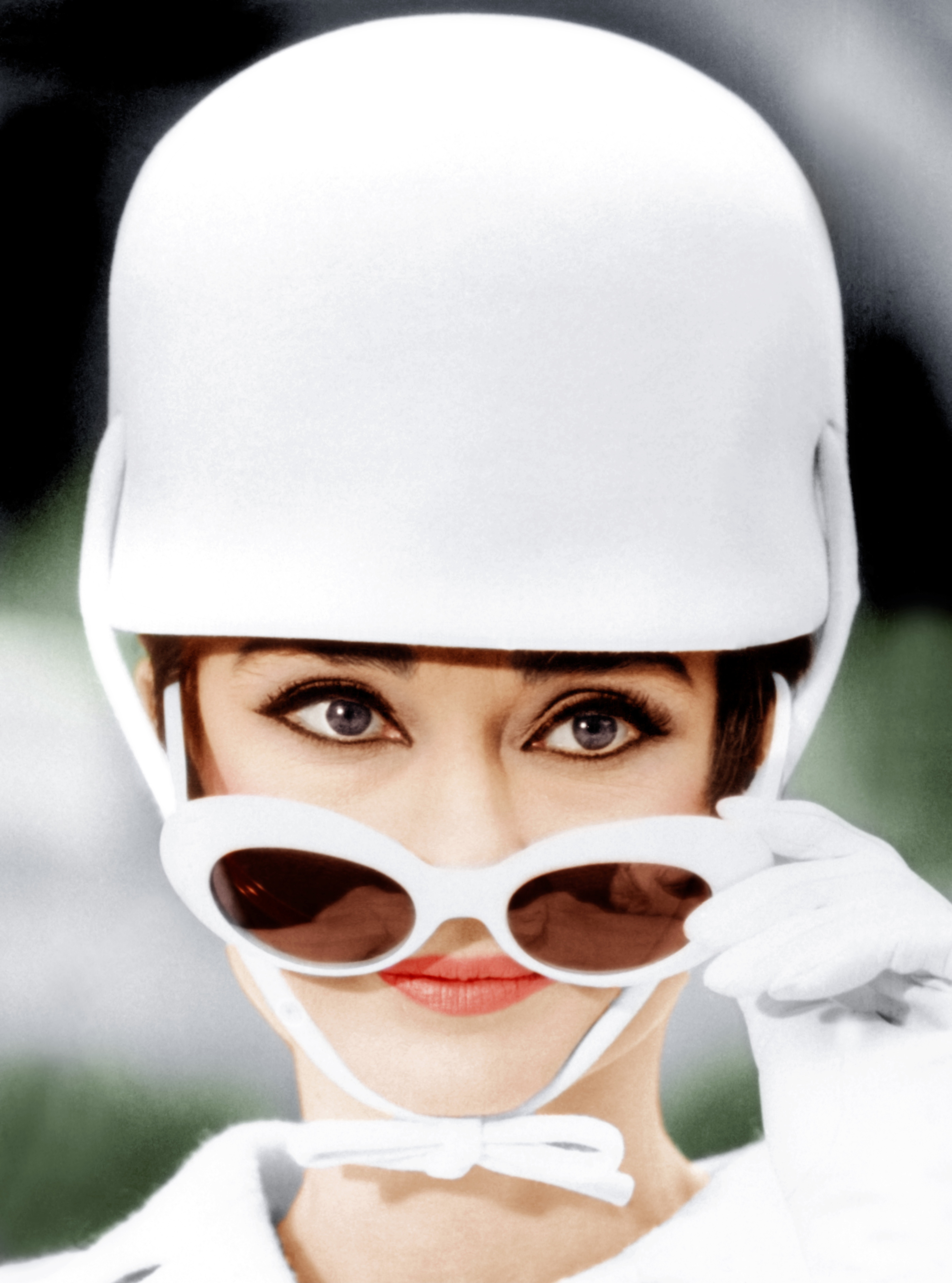 Audrey Hepburn, how to steal a million for IMPERIAL BLACK luxury clothing